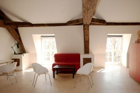 Studio sous les combles – 80 m2